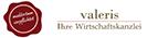 Logo der Wirtschaftskanzlei valeris in Hannover